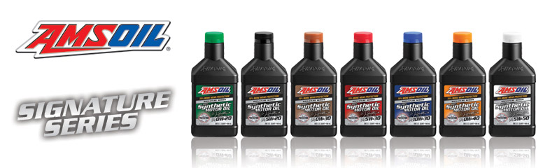 Guide to AMSOIL Signature Series Synthetic Lubricants
