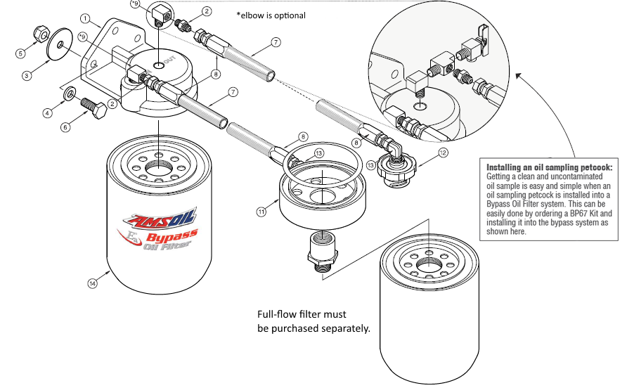 Ford 6.7L Single-Remote Bypass System