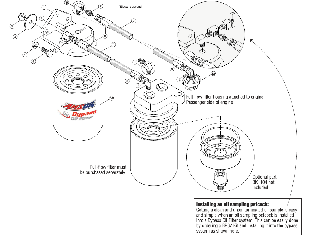Oil Bypass System For Dodge Ram Heavy Duty Pickups