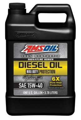 AMSOIL Synthetic Max-Duty Diesel Oil