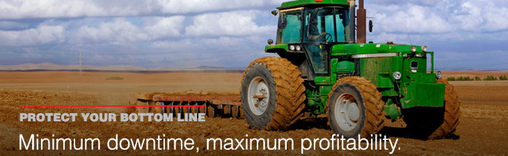 AMSOIL lubricants help minimize equipment downtime
