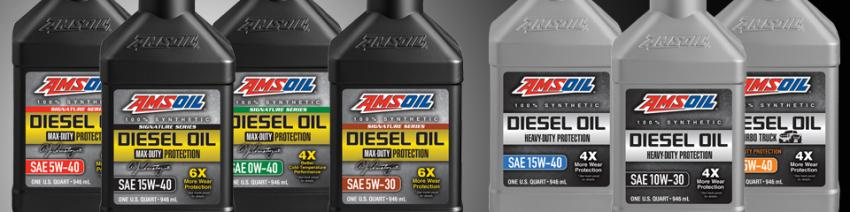 View AMSOIL Synthetic Diesel Oils