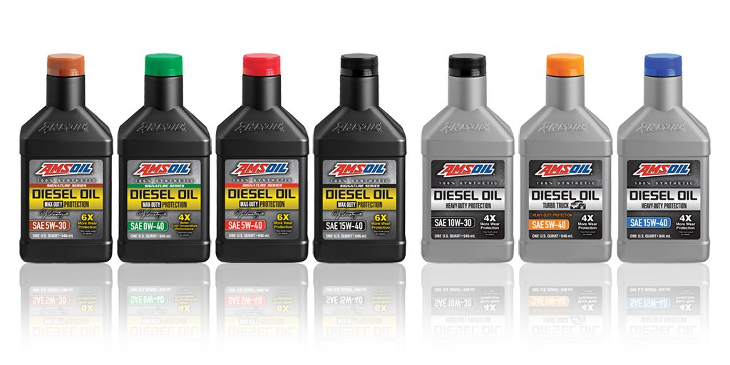 See the full line of AMSOIL synthetic diesel Oils