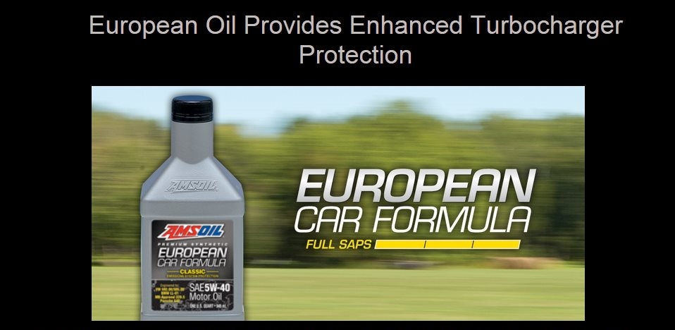 AMSOIL European Car Formulas prevent engine sludge