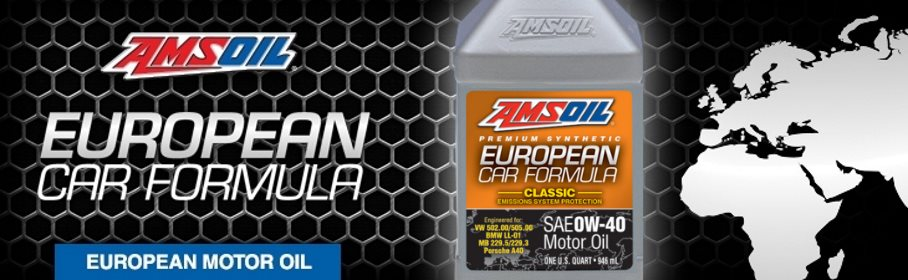 AMSOIL Synthetic European Car Formula 0W-40
