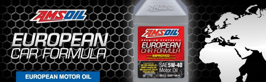 AMSOIL Synthetic European Car Formula 5W-40 Mid SAPS