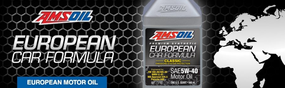 AMSOIL Synthetic European Car Formula 5W-40 Full SAPS