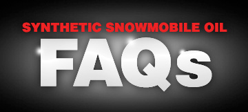Synthetic Snowmobile Oil Frequently Asked Questions