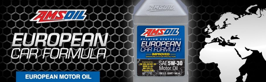 AMSOIL Synthetic European Car Formula 5W-30