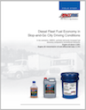AMSOIL increases fuel economy by 6.54 percent in short- to medium-haul diesel applications