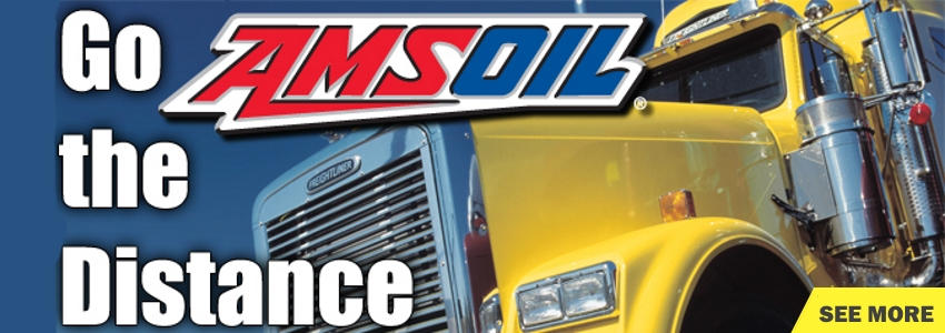 AMSOIL products for semi-trailer trucks
