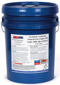 AMSOIL Synthetic Vehicular 15W-40 Natural Gas Engine Oil