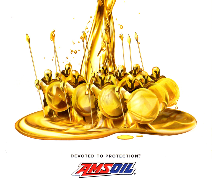 AMSOIL synthetic oil protects