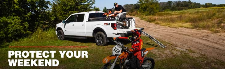 AMSOIL lubricants for dirt bikes