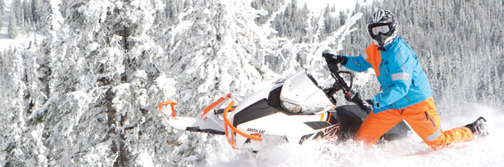 Guide to AMSOIL Synthetic Lubricants for Snowmobiles