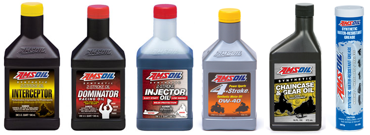 Full Line of Synthetic Snowmobile Oil