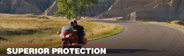 AMSOIL lubricants for touring bikes